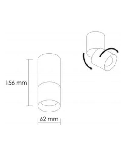 Lámpara de techo blanca direccionable 2.jpg